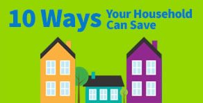 10 Ways Your Household Can Save