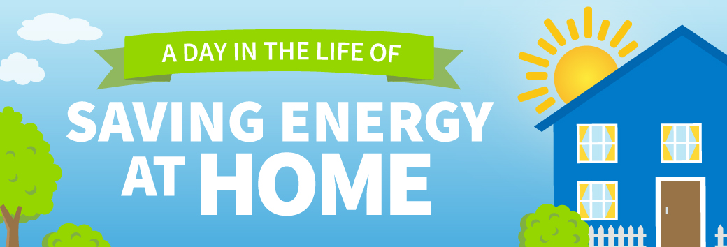 A Day in the Life – Saving Energy At Home