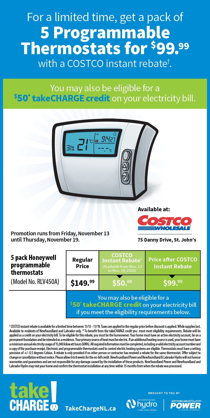 Ditch the Dial with takeCHARGE at Costco!