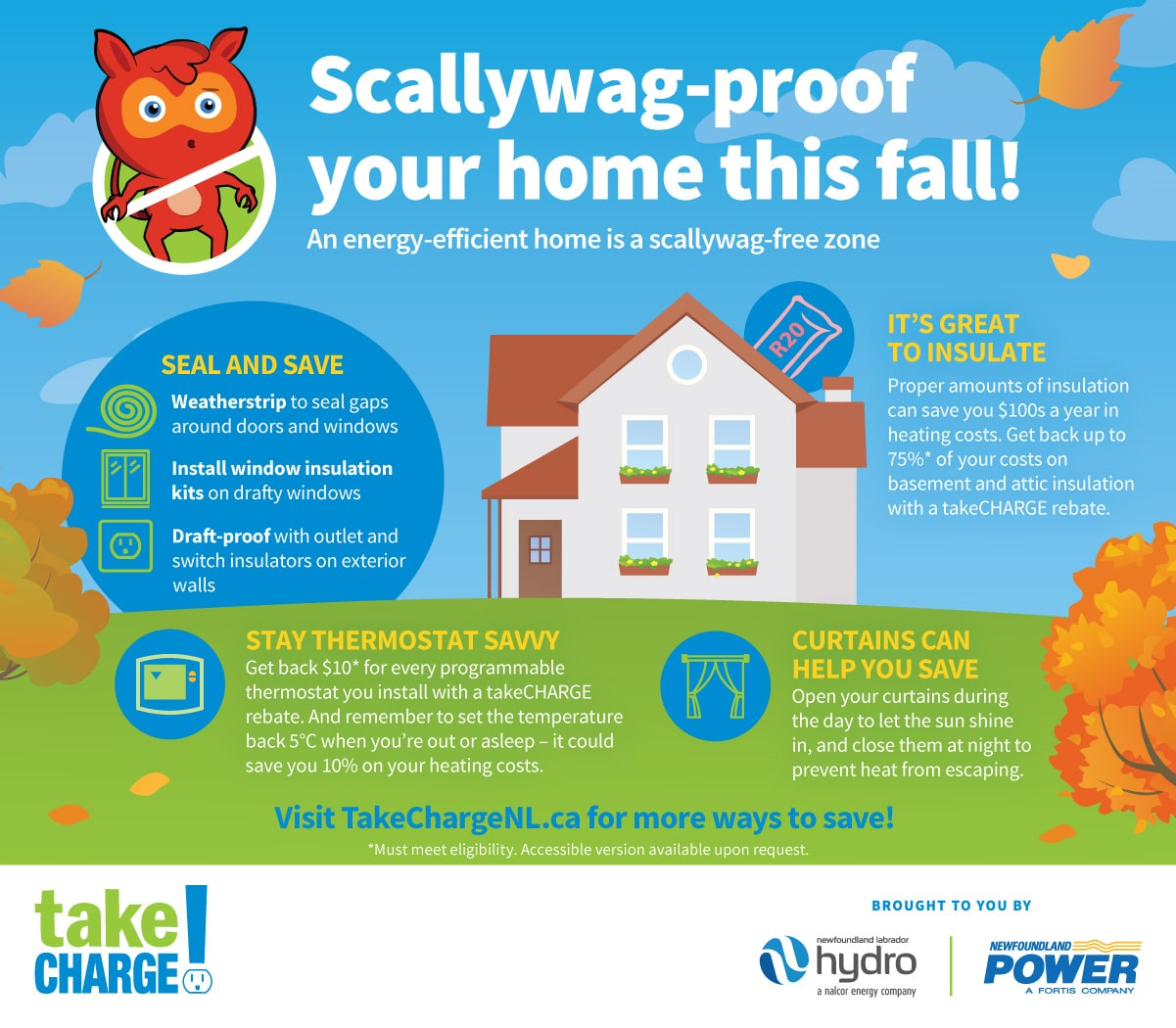 Scally-wag proof your home this fall!