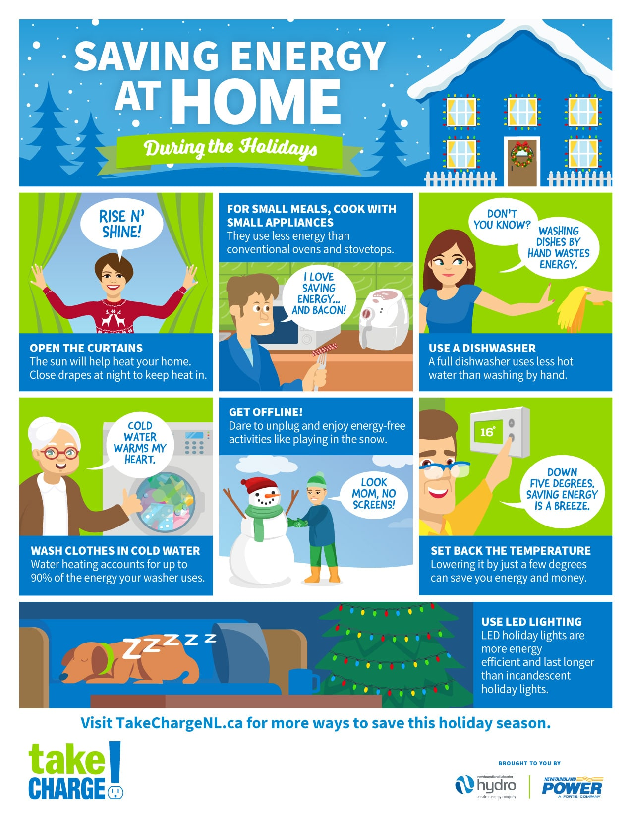 Saving Energy at Home During the Holidays!