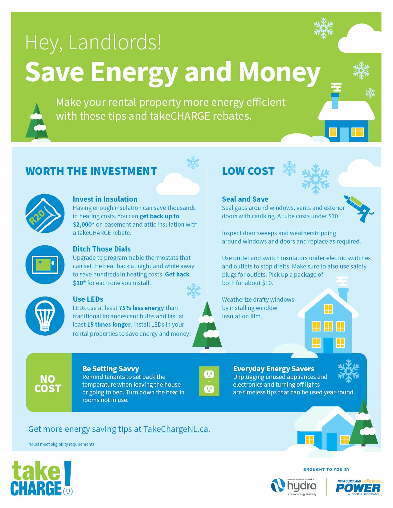 Hey, Landlords! Save Energy and Money.
