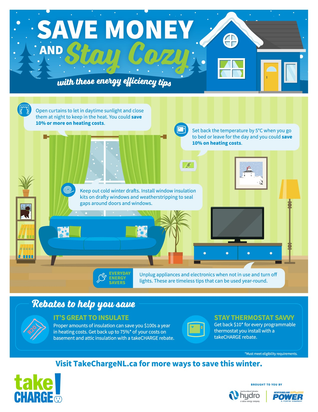 Energy Savings Tips to Save Money and Stay Cozy this Winter!