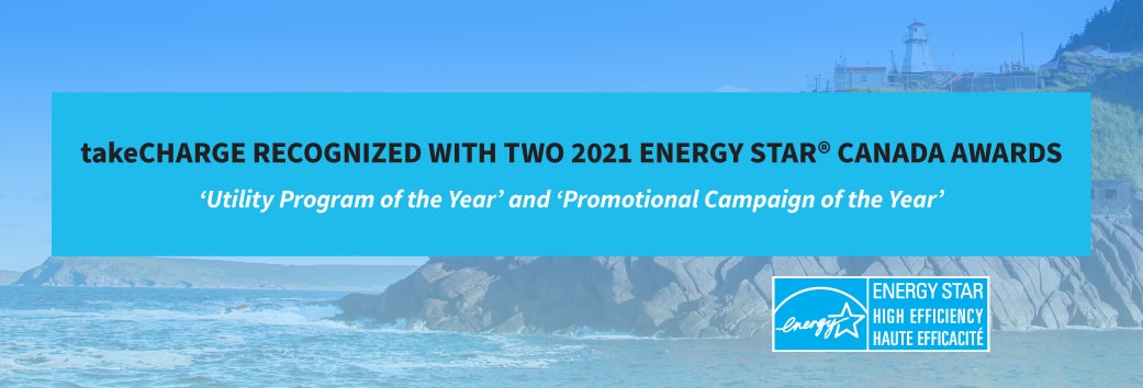 takeCHARGE recognized with Two ENERGY STAR® Awards